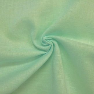 POLY/COTTON PLAIN FABRIC  MINT GREEN