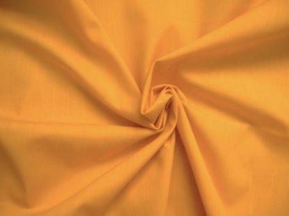 POLY/COTTON PLAIN FABRIC- GOLD-