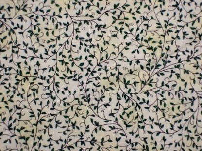 QUILTERS BASIC STYLE by STOF. DK - GREEN ON CREAM -