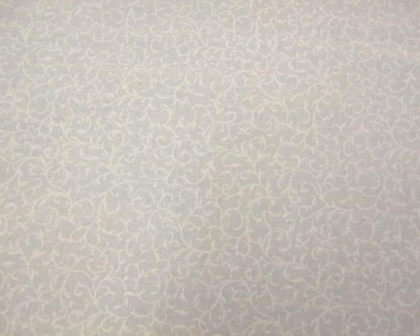 ESSENTIALS SCROLL -WHITE ON WHITE- MAKOWER