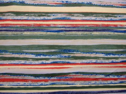 SEA STRIPE- by IMPRINT for JANE MAKOWER - BLUE/RED