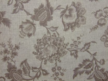 VINTAGE FLORAL by THE HENLEY STUDIO for MAKOWER UK . - TAUPE/CREAM -