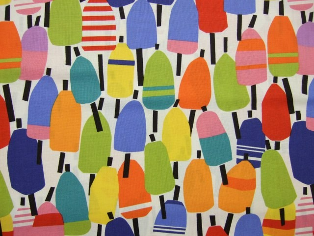 BEACH HOUSE LOLLIPOP by Kate Nelligan for Moda  COTTON FABRIC