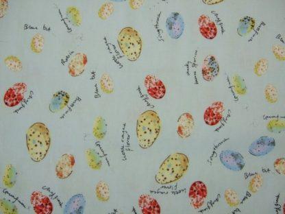 BIRDS EGGS  by INPRINT for JANE MAKOWER  - BLUE