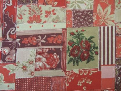 BON VOYAGE by FRENCH GENERAL for MODA - RED/CREAM -