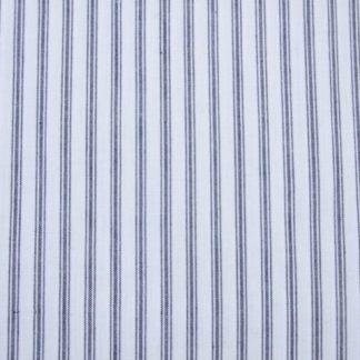 TICKING STRIPE BLUE 100% COTTON