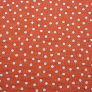 GARDENVALE by KINGWELL - 100% COTTON SPOTTY RED