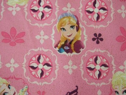 FROZEN-ELSA & ANA PATCH by DISNEY for SPRING CREATIVE PRODUCTS - 100% COTTON