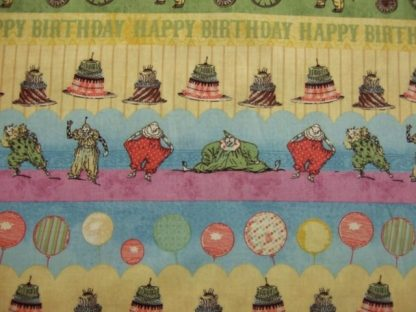 HULLABAL00 by IRON ORCHID DESIGNS for CLOTHWORKS -  BIRTHDAY ELEPHANT  -