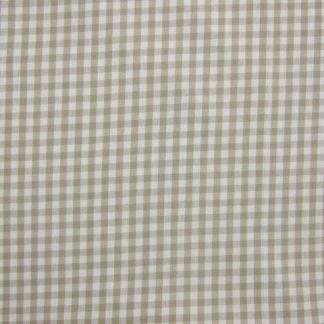 VERCORS GINGHAM heavier weight fabric - BEIGE/CREAM -