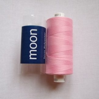COATS MOON THREAD 120gauge. 1000 yds  Spun Polyester  Baby Pink