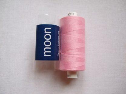 COATS MOON THREAD 120gauge. 1000 yds  Spun Polyester  Baby Pink