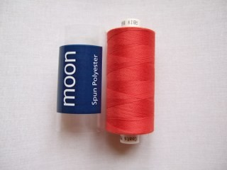 COATS MOON THREAD 120gauge  Spun Polyester  1000 yds     Burnt Orange