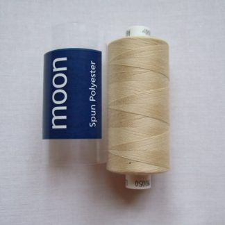 COATS MOON THREAD 120gauge  Spun Polyester  1000 yds     DARK IVORY