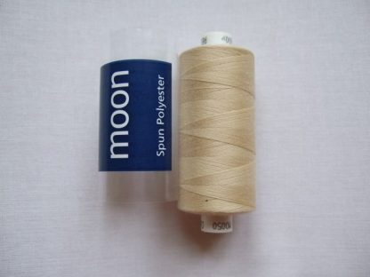 COATS MOON THREAD 120gauge  Spun Polyester  1000 yds     DARK IVORY