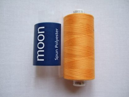 COATS MOON THREAD 120gauge  Spun Polyester  1000 yds     ORANGE