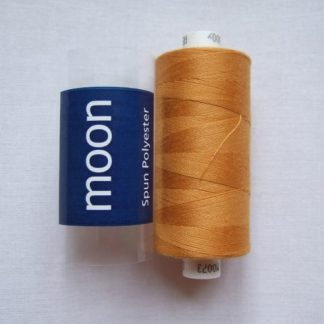 COATS MOON THREAD 120gauge  Spun Polyester  1000 yds     ANTIQUE ORANGE