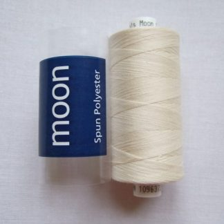 COATS MOON THREAD 120gauge  Spun Polyester  1000 yds     IVORY