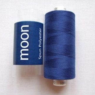 COATS MOON THREAD 120gauge  Spun Polyester  1000 yds     ROYAL BLUE