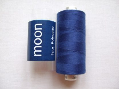 COATS MOON THREAD 120gauge  Spun Polyester  1000 yds     ROYAL BLUE