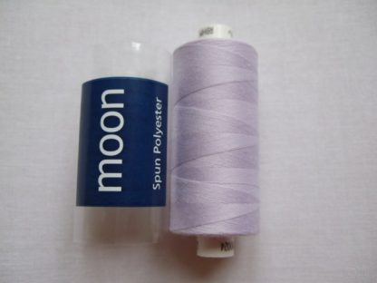 COATS MOON THREAD 120gauge  Spun Polyester  1000 yds     PALE LILAC