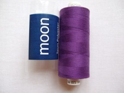 COATS MOON THREAD 120gauge  Spun Polyester  1000 yds     PURPLE