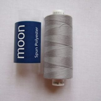 COATS MOON THREAD 120gauge  Spun Polyester  1000 yds     LIGHT GREY