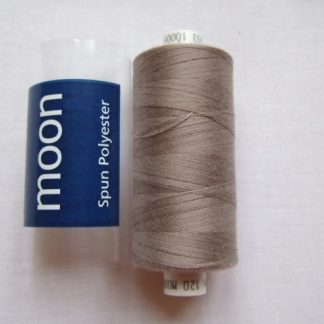 COATS MOON THREAD 120gauge  Spun Polyester  1000 yds     BEIGE
