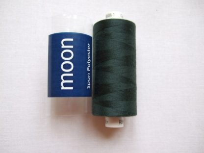 COATS MOON THREAD 120gauge  Spun Polyester  1000 yds     BOTTLE GREEN