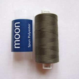 COATS MOON THREAD 120gauge  Spun Polyester  1000 yds     FOREST GREEN