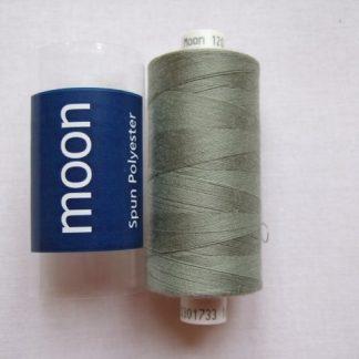 COATS MOON THREAD 120gauge  Spun Polyester  1000 yds     SAGE GREEN
