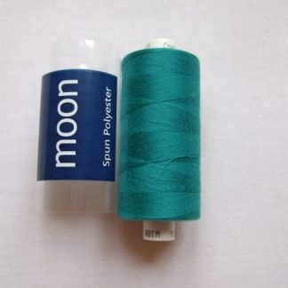 COATS MOON THREAD 120gauge  Spun Polyester  1000 yds     TURQUOISE