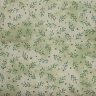 DAHLIA DREAMS by Cheryl Malkowski for Paintbrush Studio cotton fabricGREEN