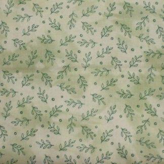 DAHLIA DREAMS by Cheryl Malkowski for Paintbrush Studio cotton fabricGREEN