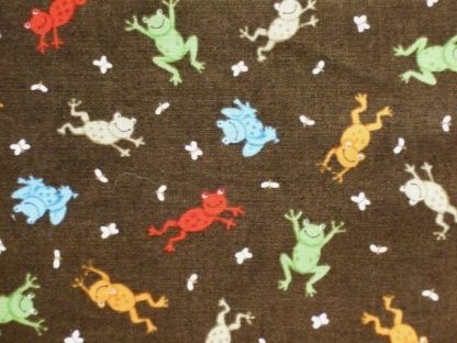 MEADOW FRIENDS by DEB STRAIN for Moda cotton fabric  brown