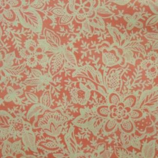 COQUETTE by Chez Moi for Moda cotton fabric pink/cream