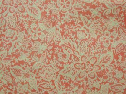 COQUETTE by Chez Moi for Moda cotton fabric pink/cream