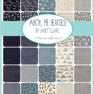 AHOY ME HEARTIES by JANET CLARE