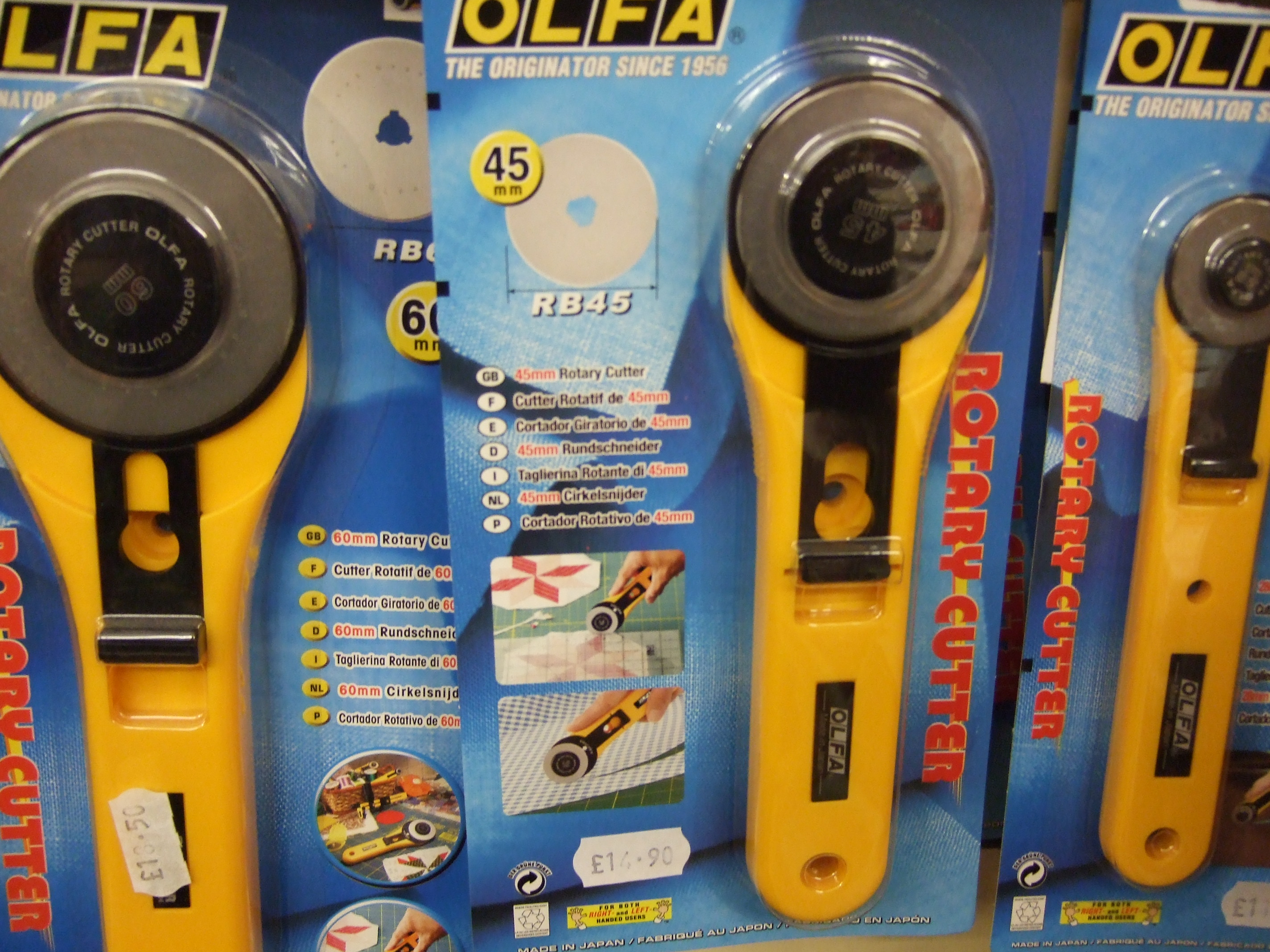 ROTARY CUTTERS & BLADES