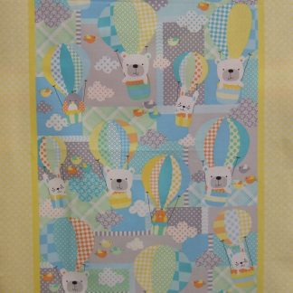 BREEZY BABY PANEL designed by GRETA LYNN for KANVAS- BENERTEX