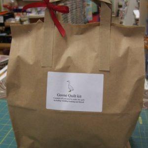 Goose Quilt Kit