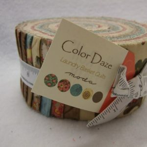 COLOR DAZE by LAUNDRY BASKET QUILTS for MODA - JELLY ROLL